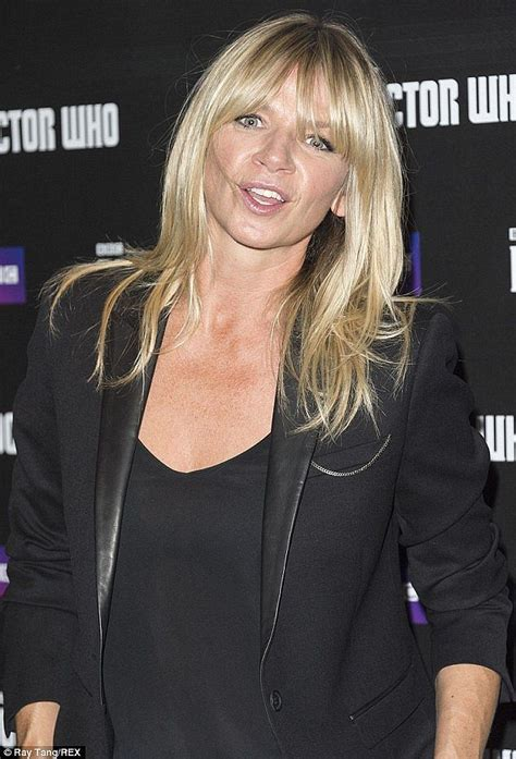 Zoe ball, 46, leaves viewers aghast with underwear. Zoe Ball celebrates six months of sobriety | Blonde hair with fringe, Ball hairstyles, Hair looks
