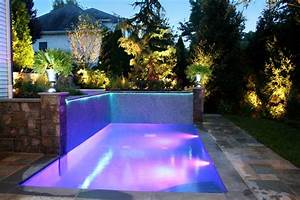 Swimming pool lighting ideas home design inside