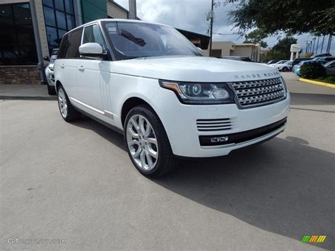 land rover hse white 2016 fuji white land rover range rover hse 108795073