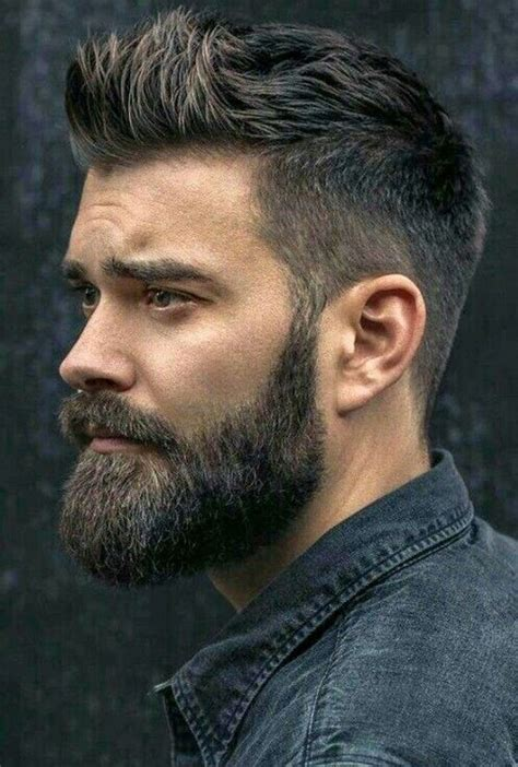 15 best men haircuts with beard 2018 hottest exclusive
