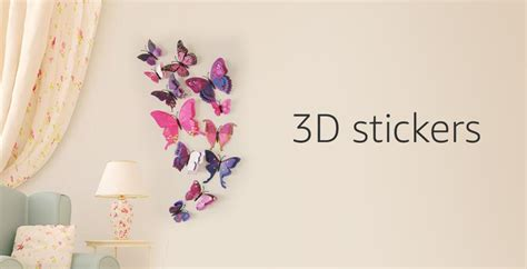 wall stickers buy wall stickers online at best prices in india amazon in