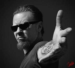 Portrait James Hetfield, Metallica by Disse86 on DeviantArt