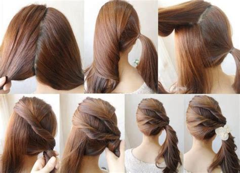 Easy Ponytail Hairstyles For by Hairstyles The Clothes Collector