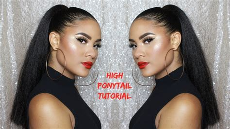 Ponytail With Kanekalon Braiding Hair For
