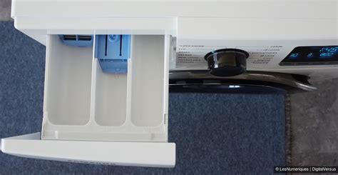 bac a detergent lave linge samsung ww90j6410cw test complet lave linge les num 233 riques