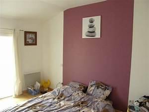 peinture mur chambre adulte evtod With peinture mur chambre adulte