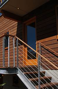 Holz Ausbessern Aussen : moderne stahltreppen au en eine gute idee architektur ~ Lizthompson.info Haus und Dekorationen