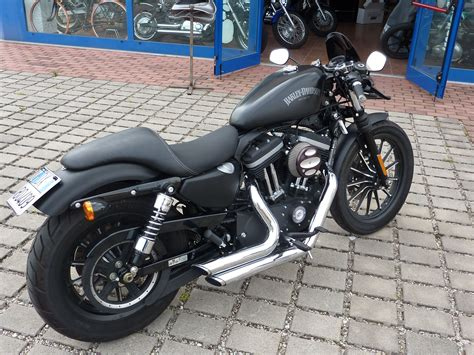 Modification Harley Davidson Iron 883 by Harley Davidson Sportster 883 Iron Caf 232 Style Modified