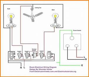 Provide A Complete Electrical Home Wiring Design Layout By