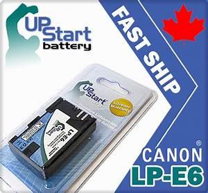Canon Camcorder Comparison Chart Lp E6 Battery For Canon Eos 5d 7d Mark Ii 2 New 6240 Ebay