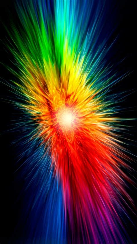 explosion of colors color explosion fireworks colors iphone