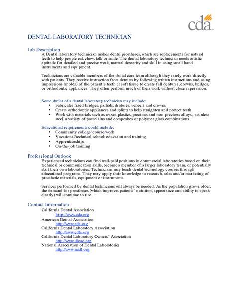 Laboratory Technician Resume by 11 Laboratory Technician Resume Sle Riez Sle