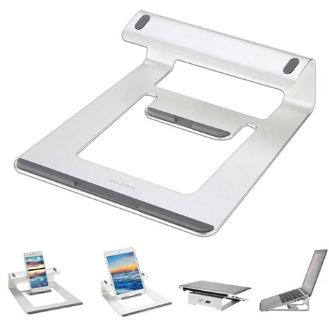 dock bureau aluminium laptop stand bureau dock houder beugel koeler