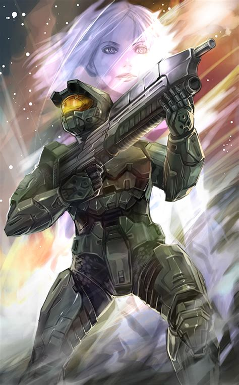 master chief halo game zerochan anime image board
