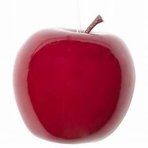 Pomme Rouge Deco : d co de no l pomme rouge 7 cm maisons du monde ~ Teatrodelosmanantiales.com Idées de Décoration