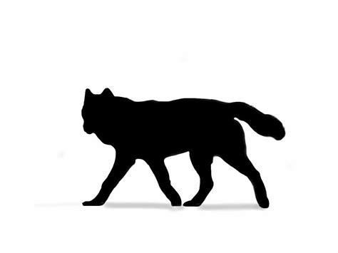 silhouette tattoo wolf google search cool skin art