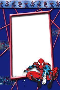 kids spider man transparent photo frame spiderman