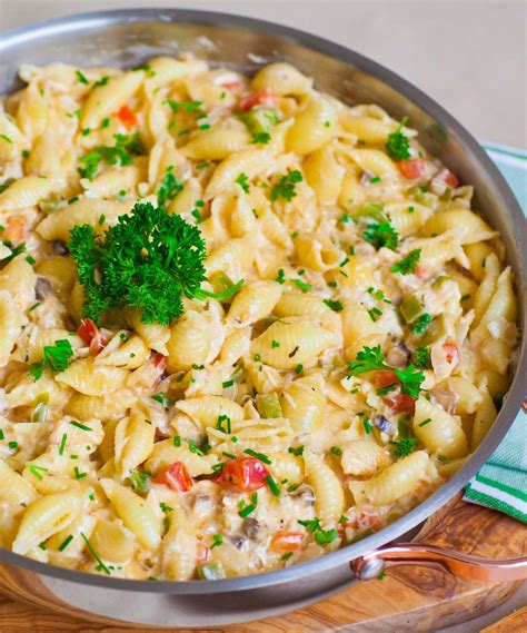 cheesy crab pasta video tatyanas everyday food