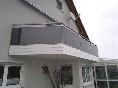 balkone missel alu und glas balkongelaender