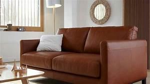 Quelles couleurs associer avec un canape en cuir brun for Tapis oriental avec canapé vintage la redoute
