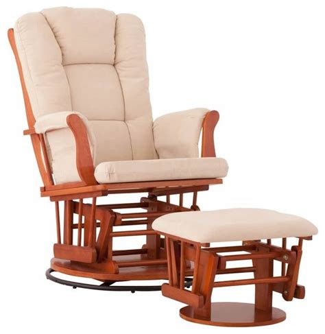 rocking chair with ottoman status furniture swivel glider with ottoman