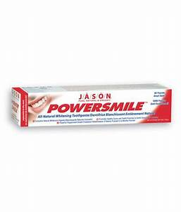 Jason PowerSmile Toothpaste Peppermint 6-Ounce Tubes (Pack ...