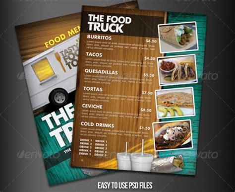 15 Inspirational Food Menus Designs Designdune