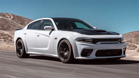 dodge unveils  charger hellcat widebody  scat pack
