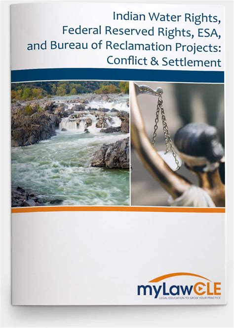 indian water rights federal reserved rights esa and bureau of reclamation projects conflict