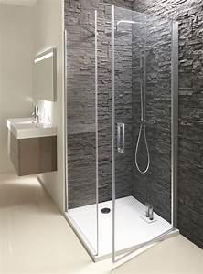 douche italienne receveur de douche extra plat tout sur With porte de douche coulissante avec dalle led salle de bain