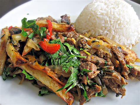 peruvian cuisine recipe of the week lomo saltado