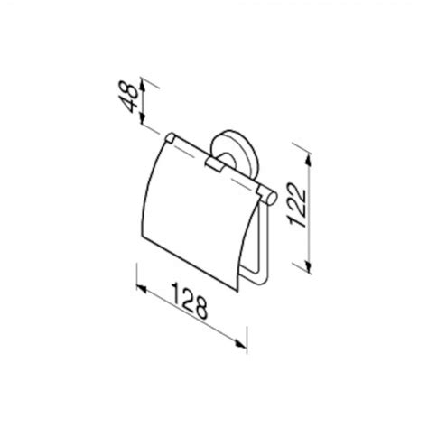 toilet accessoires geesa toilet roll holder with cover geesa hotellitarbed