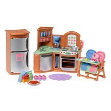 dollhouse kitchen accessories fisher price loving family dollhouse premium decor 3420