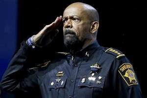"""Looks like Sheriff David Clarke's """"army"""" medals might be B ..."""