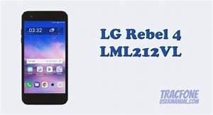 Tracfone Lg Rebel 4 Lml212vl    Lml211bl User Manual
