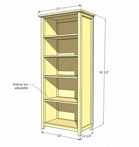Ana White Channing Bookcase - DIY Projects
