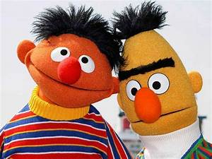 ernie and bert muppet characters | been rumoured that the ...