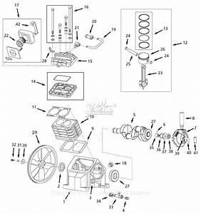 Campbell Hausfeld Ciq71080vp Parts Diagram For Pump Parts