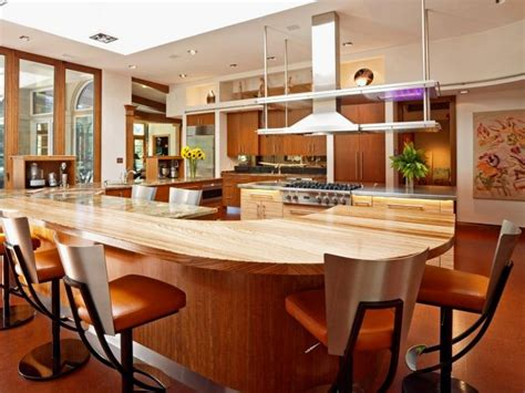 Elegant Kitchen Island With Built In Dining Table Glazed Kitchen Cabinets Colors Pink Backsplash Faux Countertops Decor Subway Tile Pictures Miami How To Choose Kitchens With Stainless Steel