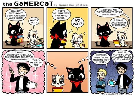 diy gaming image comics gamer cat video game
