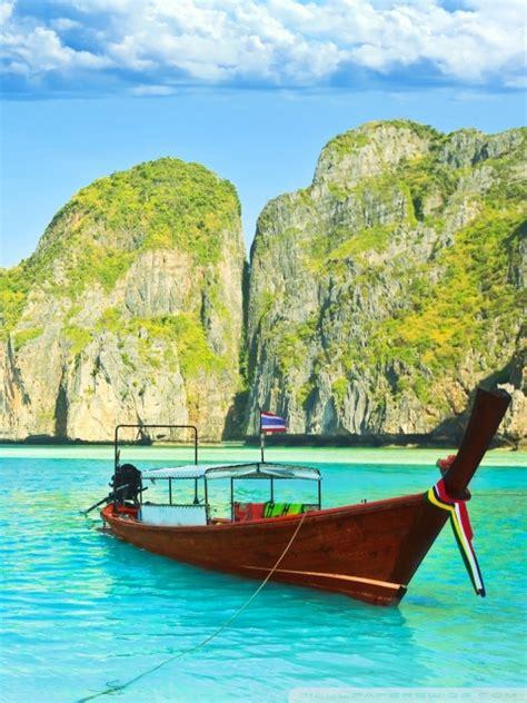 maya bay thailand  hd desktop wallpaper   ultra hd