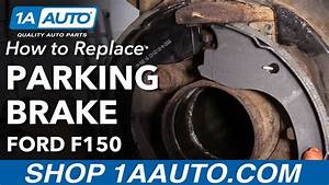 How To Replace Parking Brake 09-14 Ford F-150