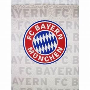 fussballtapete quotfc bayern munchenquot rot weiss 1005 x 053 With balkon teppich mit fc bayern tapete
