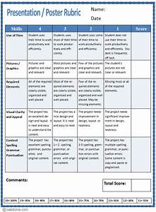 rubric template for powerpoint presentation gaveainfo With powerpoint rubric template