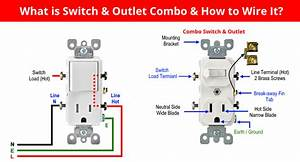 How To Wire Combo Switch  U0026 Outlet  Combo Device Wiring