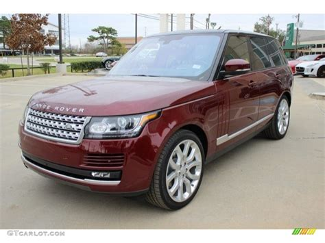 Red Range Rover Bing Images