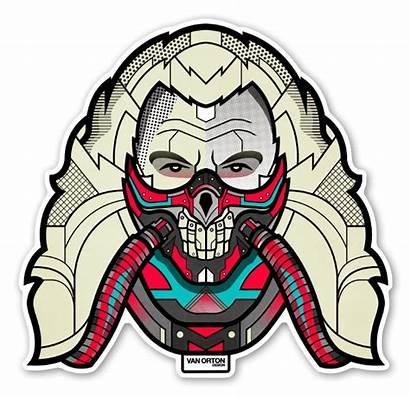 Clipart Joe Immortan Predator Mad Behance Icons
