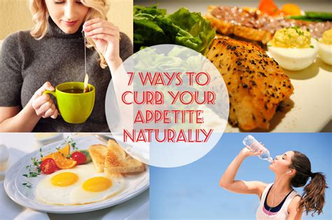 7 Ways To Curb Your Appetite Naturally