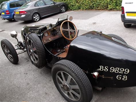 Antique Bugatti Cars by Bugatti Vintage Car At Back Of Manor House Solihull Rep