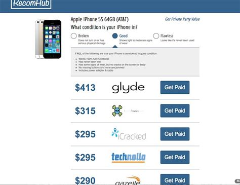 to sell iphone how to sell your iphone for the best price recomhub